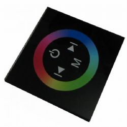 RGB LED touch controller - Wall mounted